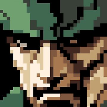 Solid Snake by winscometjump