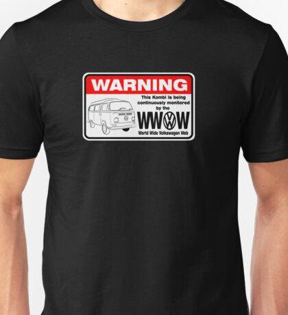 Volkswagen Kombi Tee shirt - WARNING! T-Shirt
