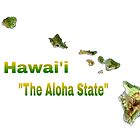 The Aloha State  by WhiteDove Studio kj gordon