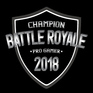 Battle Royale Champion Pro  Gamer 2018 Boys T Shirt by Corauction