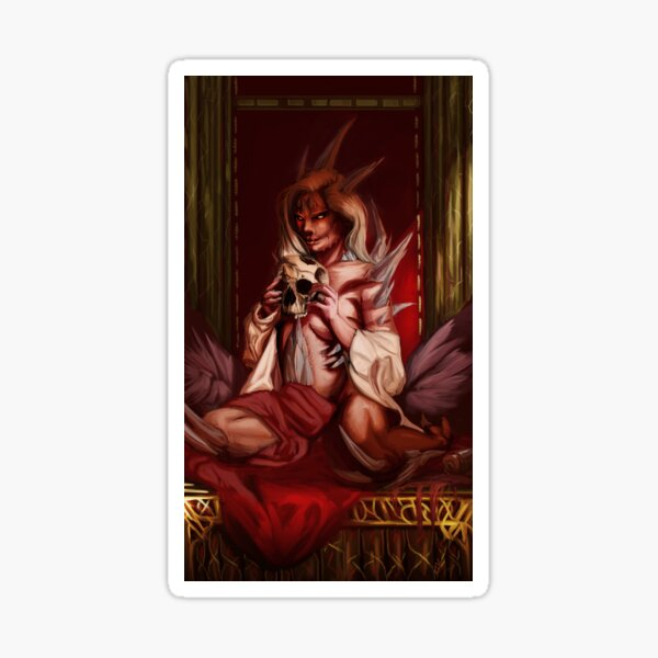 Queen Arasnia Sticker