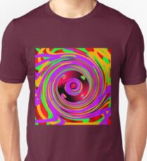 Psychedelic Spiral  Unisex T-Shirt