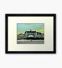 Narragansett Pier Beach - The Towers *featured Framed Print