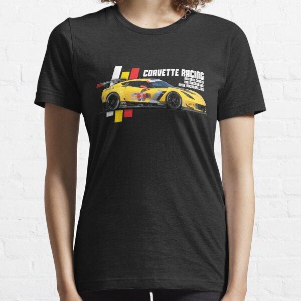 Corvette Racing # 3 (2018 - couleurs foncées) T-shirt essentiel