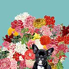 Frenchies Garden by Suzanne  Carter