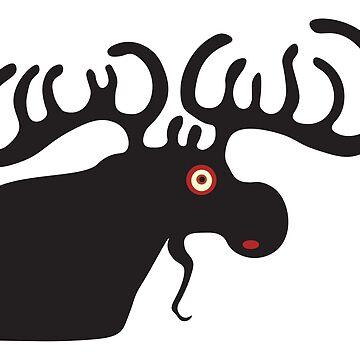 Moose by vivianz
