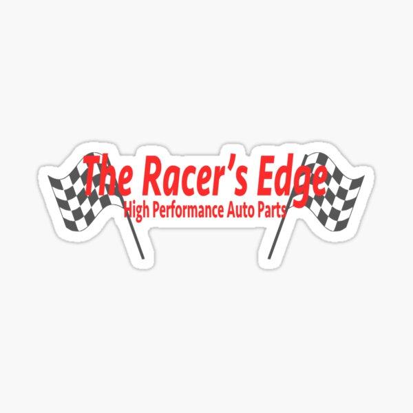 The Racer's Edge High Performance Auto Parts Rápido y furioso Pegatina