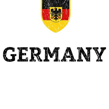 Vintage Germany German Football Soccer Flag  by vladocar