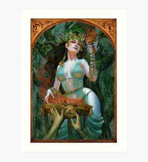 Circe goddess of Enchantments Art Print