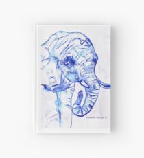 The elephant Hardcover Journal