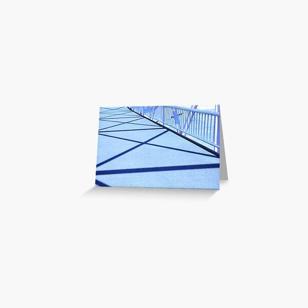 Bridge Shadows Greeting Card