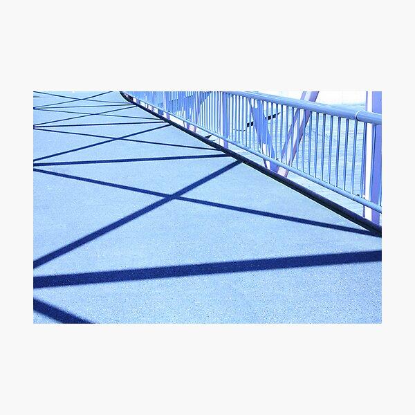 Bridge Shadows Photographic Print