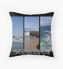 Seascapes - Calendar Cover Throw Pillow
