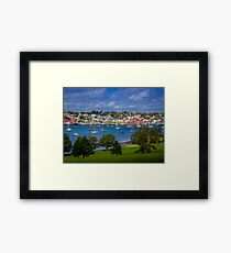 Lunenburg Harbour Framed Print