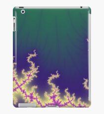 Mandelbrot fractal flames by Myriala iPad Case/Skin