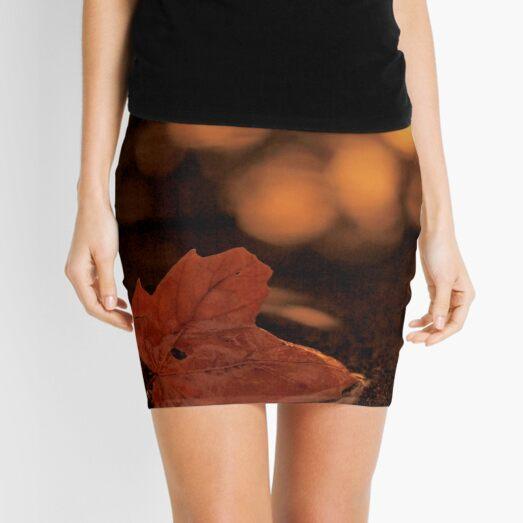 dipped in gold Mini Skirt