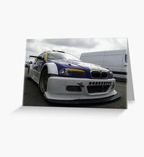 Michael Symons E46 GTR   Greeting Card