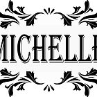 Frame Name Michelle by PM-Names