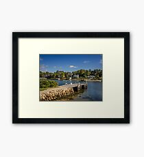 Chester Harbour Framed Print