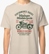 VINTAGE MOTORCYCLES Classic T-Shirt