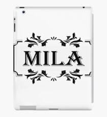 Frame Name Mila iPad Case/Skin
