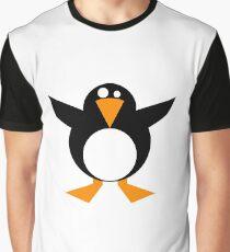 Penguin Cartoon Graphic T-Shirt