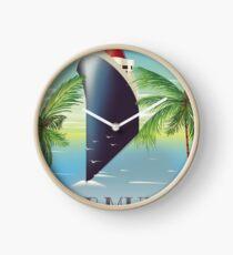 Bermuda Cruise liner  Clock