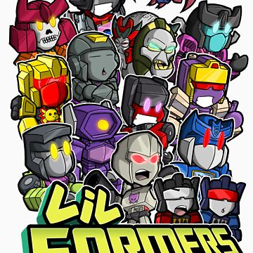 Lil Formers Bad Bots by mattmoylan