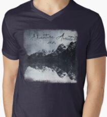 HeartBeat - Adventure Awaits Men's V-Neck T-Shirt