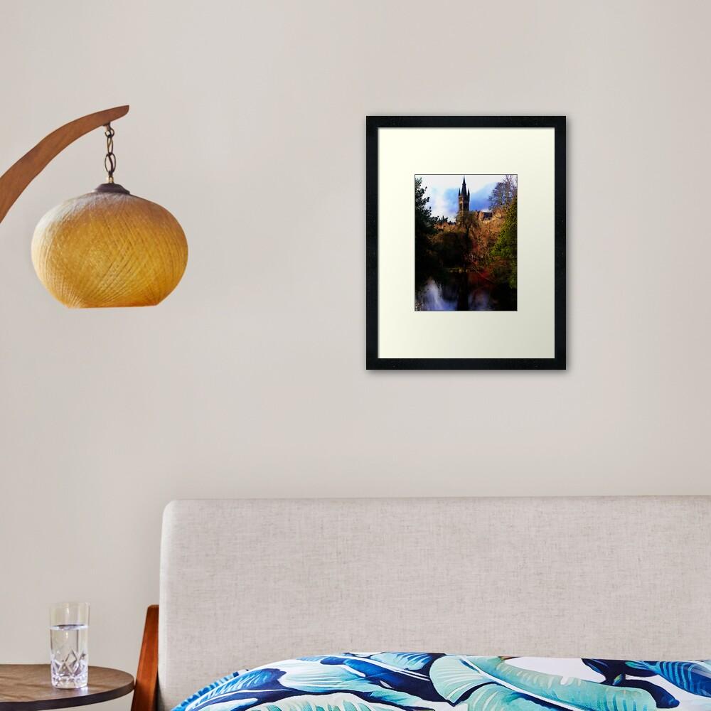 The Cyprus Pond Framed Art Print