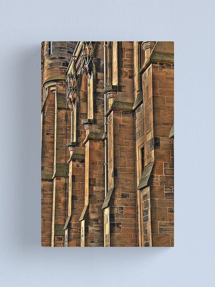 Alternate view of Buttresses Canvas Print