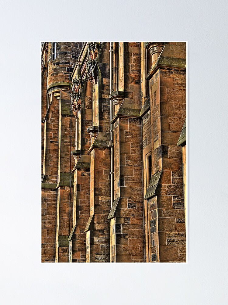 Alternate view of Buttresses Poster