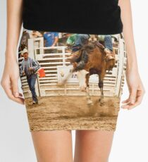 Rodeo - Bucking Bronco  Mini Skirt