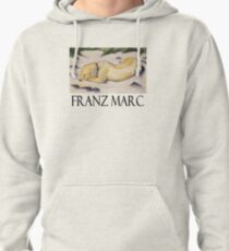 Franz Marc - Dog Lying in the Snow Pullover Hoodie