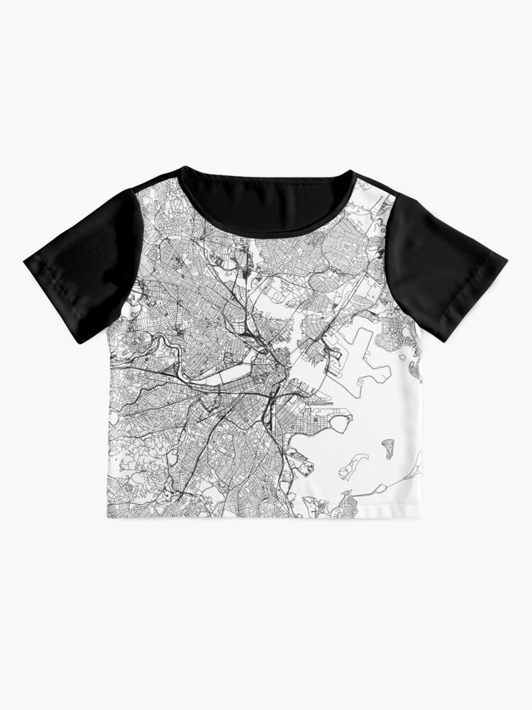 Alternative Ansicht von Boston Weiße Karte Chiffontop