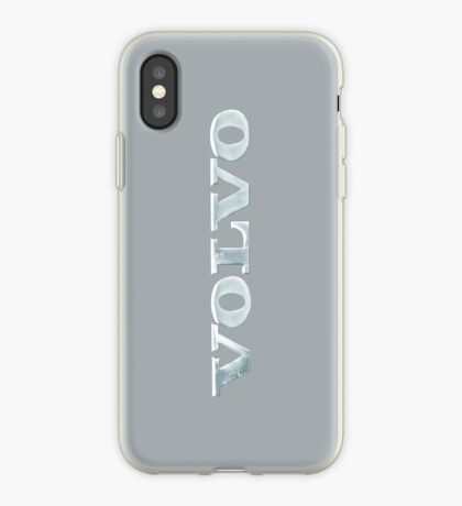Old Volvo Emblem, Space Grey [iPhone ONLY] iPhone Case