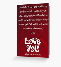 No matter what... Greeting Card