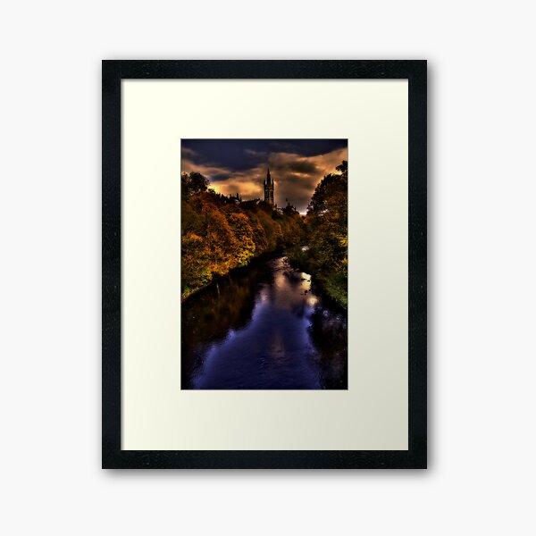 Autumn Evening Framed Art Print