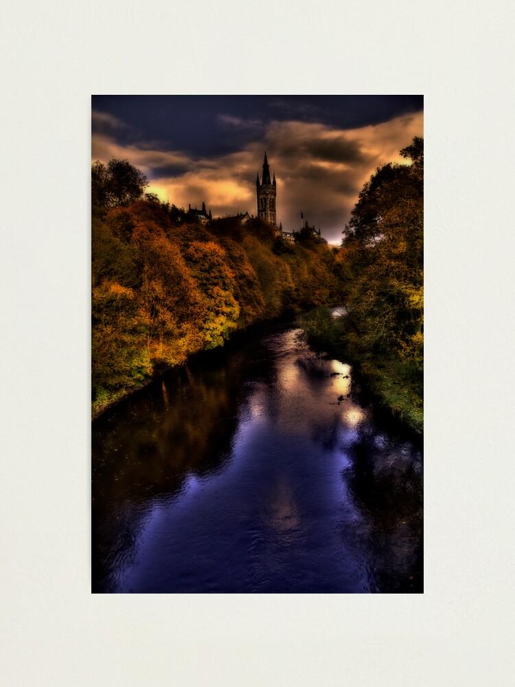 Alternate view of Autumn Evening Photographic Print