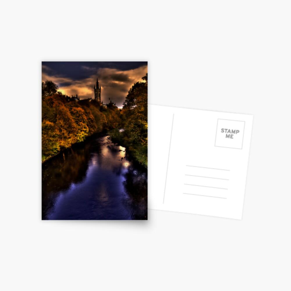 Autumn Evening Postcard