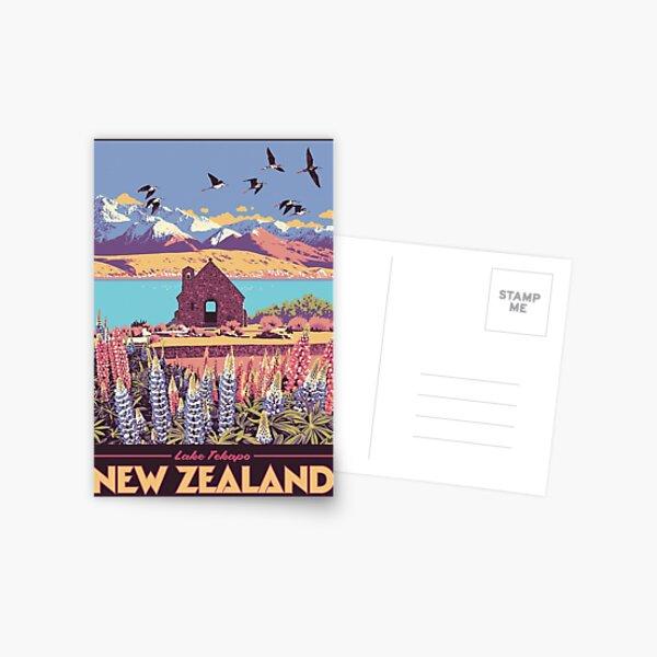 Lake Tekapo Postcard