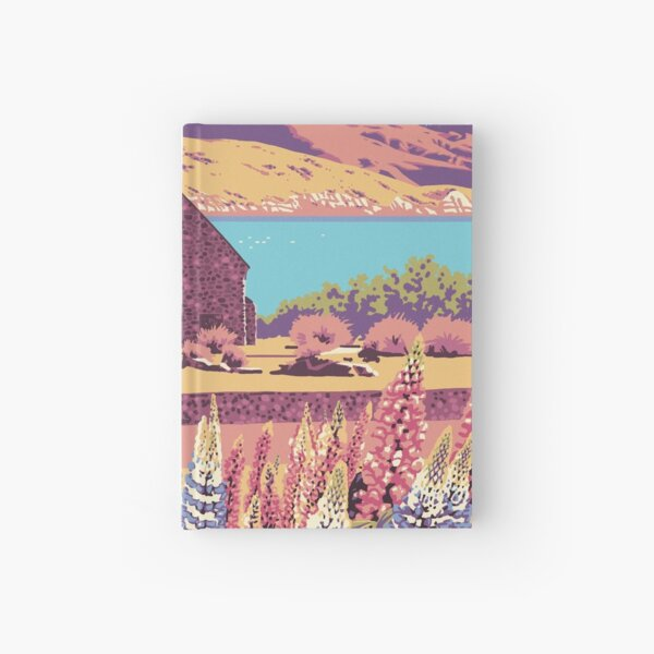 Lake Tekapo Hardcover Journal