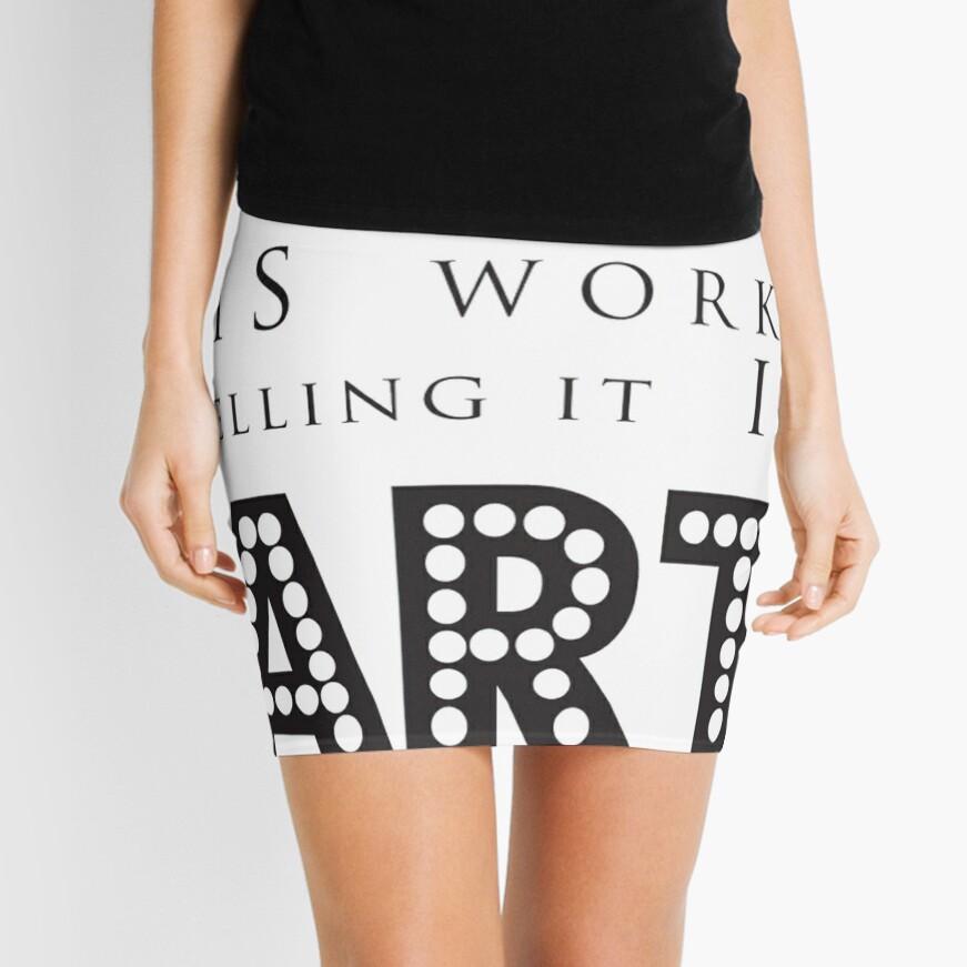 ART Mini Skirt