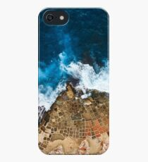 An aerial shot of the Salt Pans in Marsaskala Malta iPhone SE/5s/5 Case
