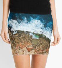 Minifalda Una toma aérea de las salinas en Marsaskala Malta