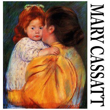 Mary Cassatt - Maternal Kiss by Chunga