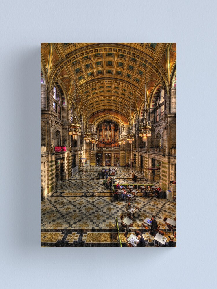 Alternate view of The Big Hall Canvas Print