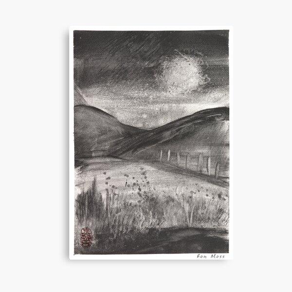 Graphite 1 Canvas Print