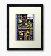 Reflections of Glasgow (1) Framed Print