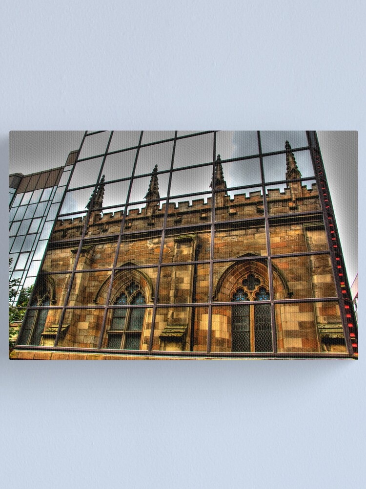 Alternate view of Reflections of Glasgow (2) Canvas Print